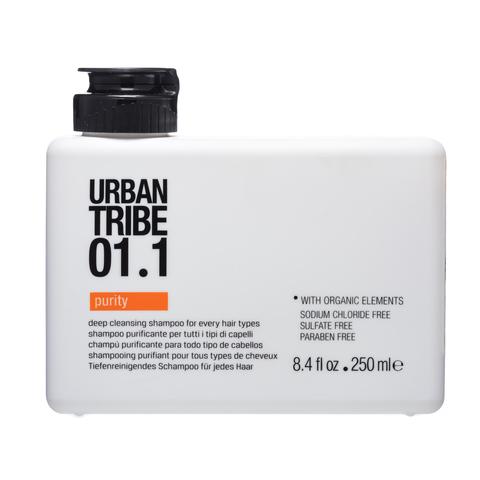 URBAN TRIBE 01.1 Shampoo Purity Шампунь для глубокого очищения
