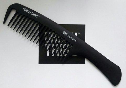 URBAN TRIBE Гребень c ручкой Tourmaline 20.8 см