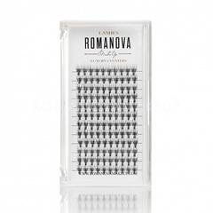 Romanovamakeup Пучки ресниц серии M-MEDIUM