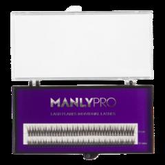Manly PRO (Ласточка) Набор ресниц в пучках шелк 10, 12 мм
