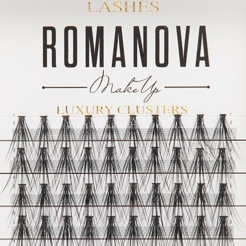 Romanovamakeup Пучки ресниц серии M-LONG