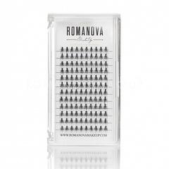 Romanovamakeup Пучки ресниц серии M-SHORT