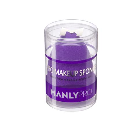 Manly PRO Бьюти спонж многофункциональный для растушевки (со срезом)