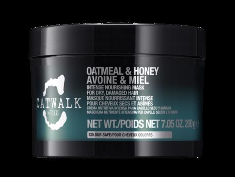 TIGI CATWALK Oatmeal & Honey Интенсивная маска для питания сухих и ломких волос