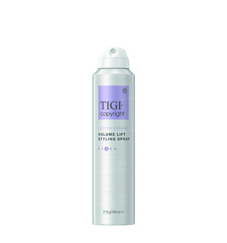 TIGI Copyright VOLUME LIFT STYLING SPRAY Спрей-мусс для придания объема волосам