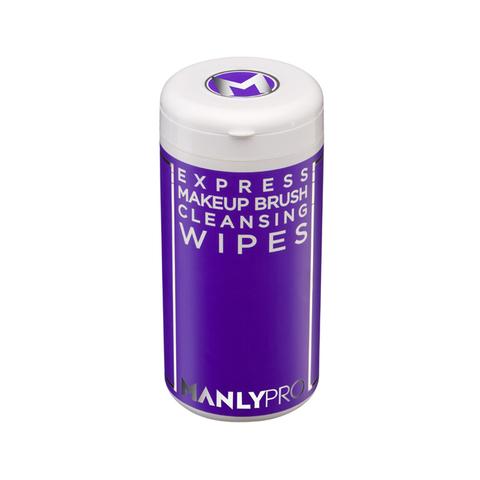 MANLY PRO Салфетки для очищения макияжных кистей