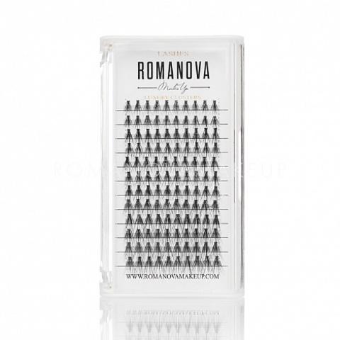 Romanovamakeup Пучки ресниц серии M-MIX