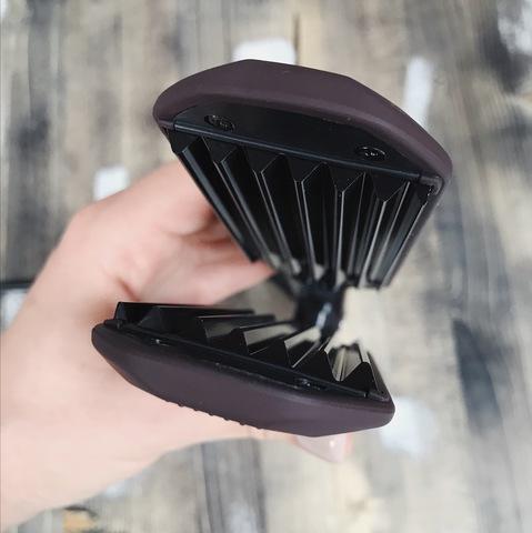 Утюжок-гофре для волос Makeuptrend широкий 45 мм