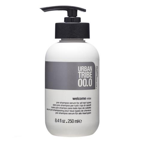 URBAN TRIBE 00.0 Welcome Relax Сыворотка для подготовки волос к очищению